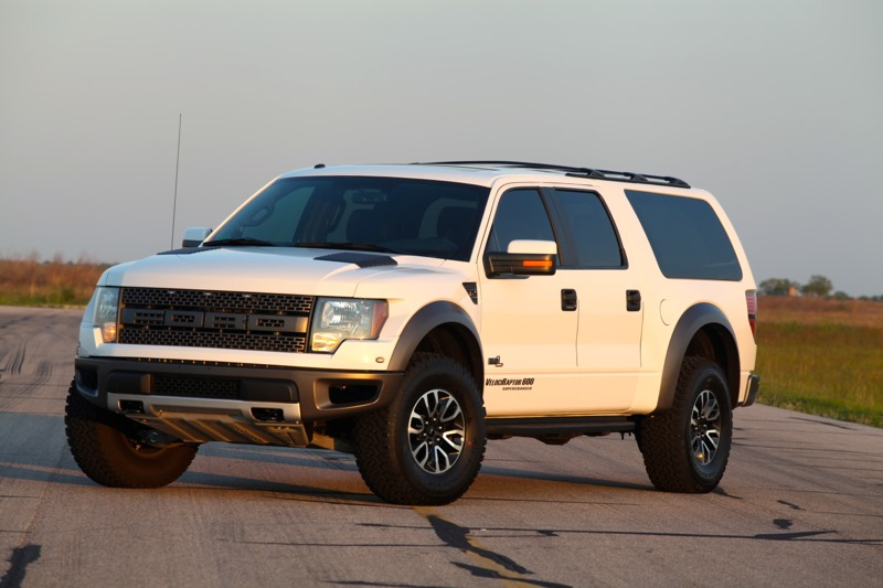 2017 Hennessey Velociraptor Suv Based On The Ford F 150 Svt Raptor