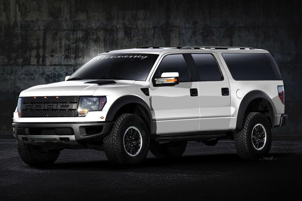 2013 Hennessey VelociRaptor SUV based on the Ford F-150 SVT Raptor