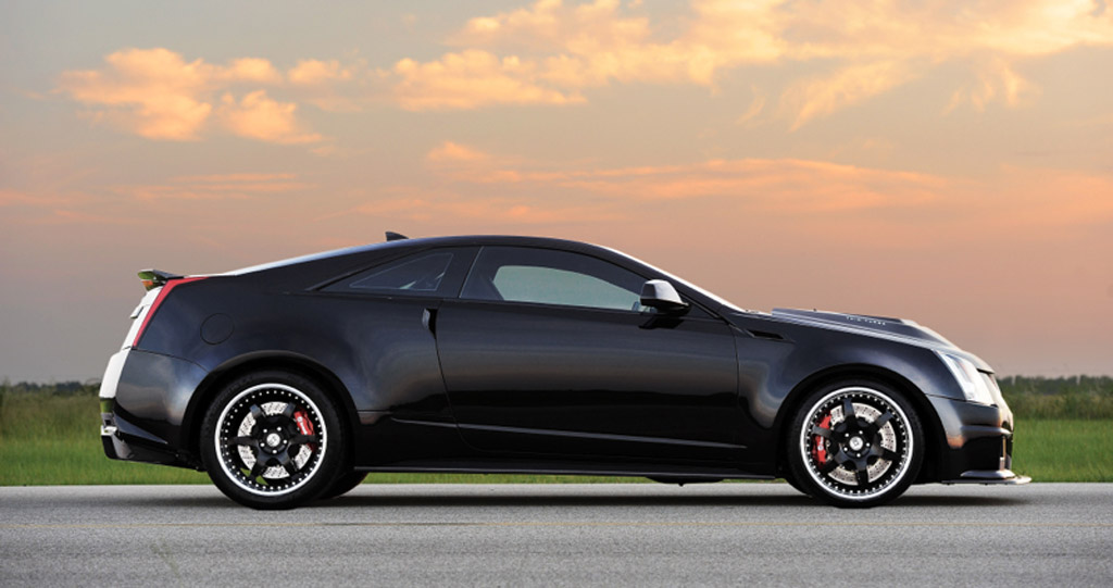 Hennessey Unleashes 1226HP Cadillac CTSV Coupe Video