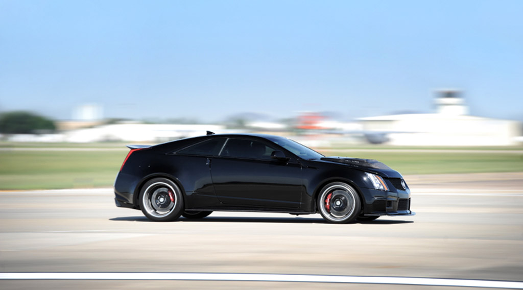 Hennessey Cadillac Cts V Hits 220 5 Mph Named Fastest In