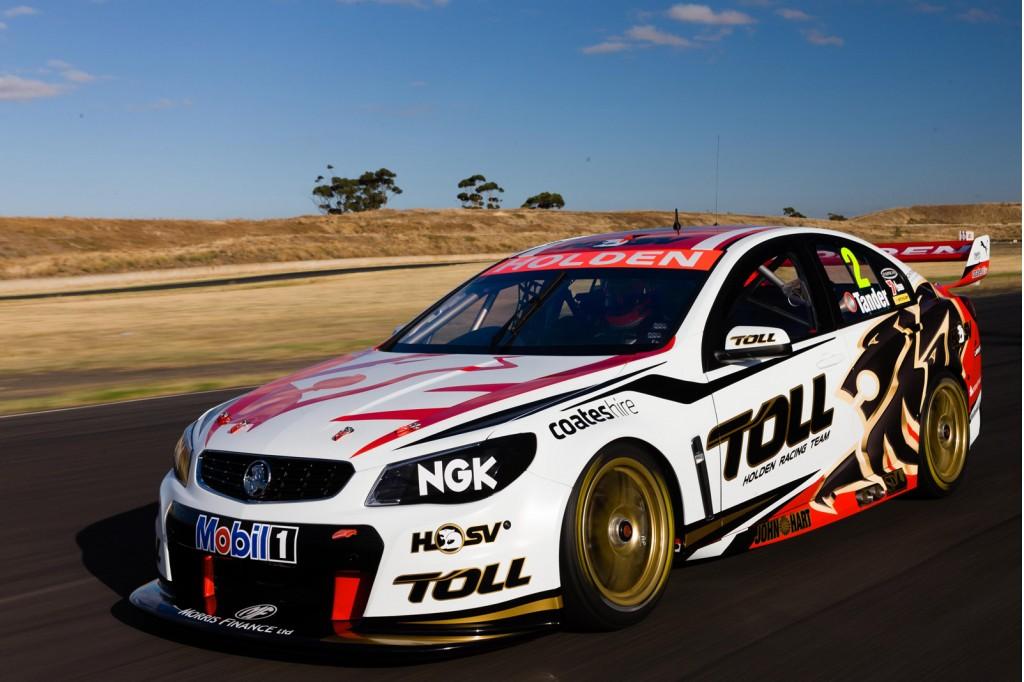 VF Holden Commodore V8 Supercars race car revealed