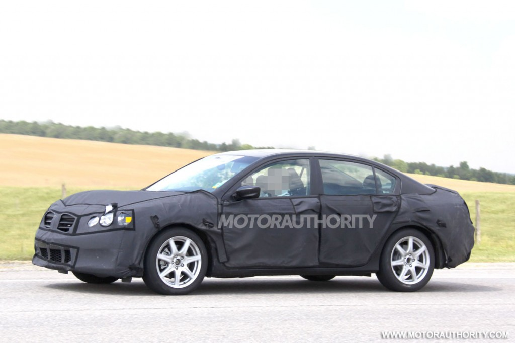 2013 Honda Accord sedan spy shots