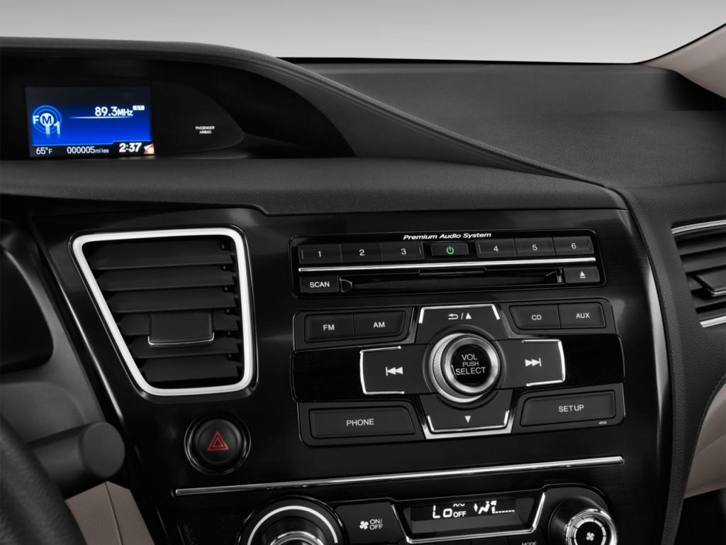 image 2013 honda civic coupe 2 door auto ex audio system. Black Bedroom Furniture Sets. Home Design Ideas
