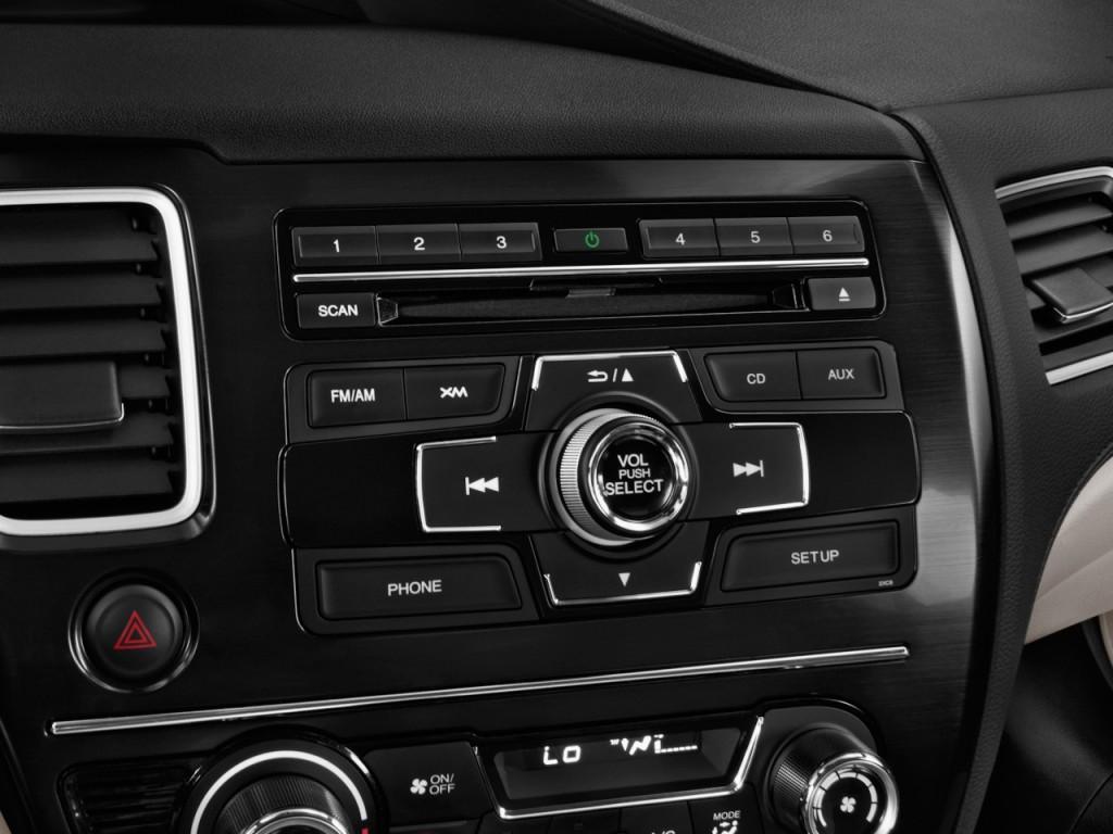 image 2013 honda civic hybrid 4 door sedan l4 cvt audio. Black Bedroom Furniture Sets. Home Design Ideas
