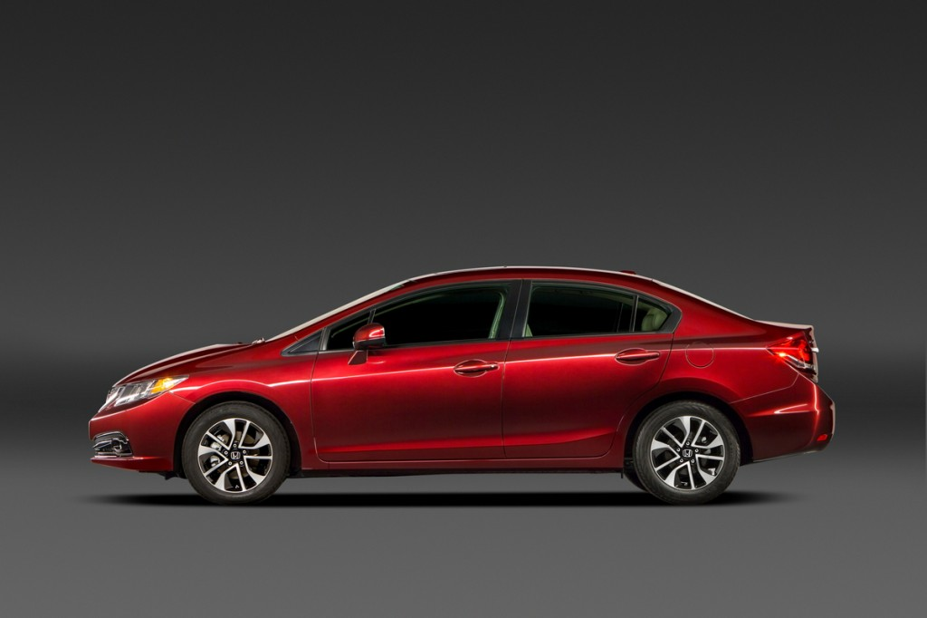 2013 Honda Civic: First Compact To Earn 'Top Safety Pick+'
