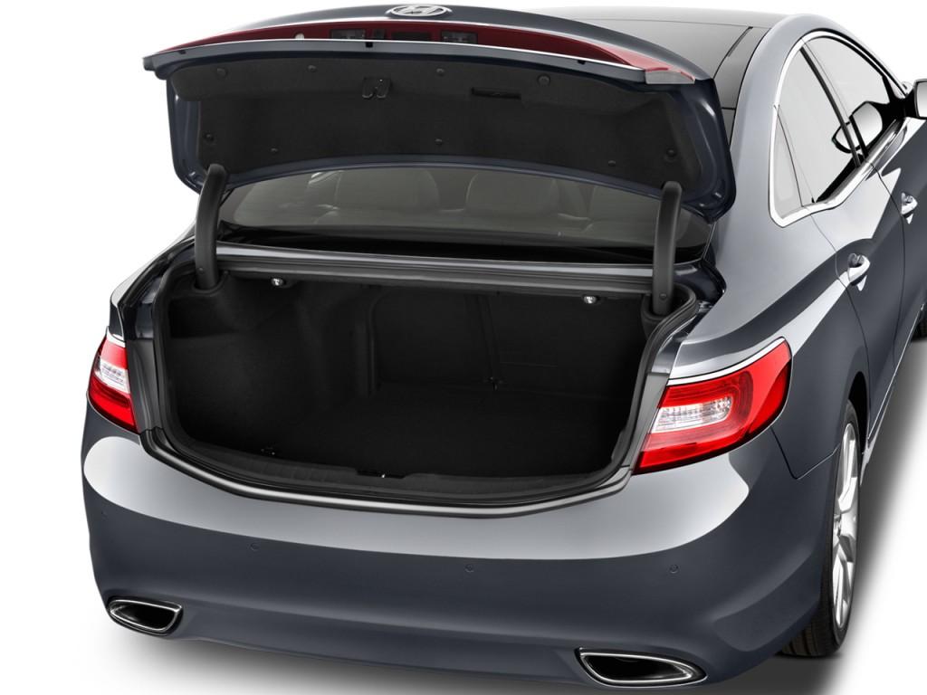 Image 2013 Hyundai Azera 4 Door Sedan Trunk Size 1024 X