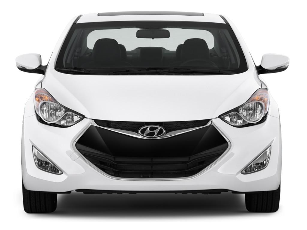 Image 2013 Hyundai Elantra Coupe 2 Door Auto Se Front