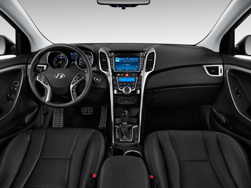 Image: 2013 Hyundai Elantra GT 5dr HB Auto Dashboard, size ...