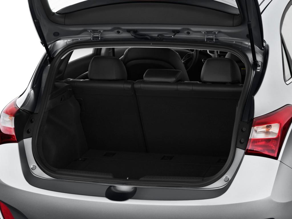 Image 2013 Hyundai Elantra Gt 5dr Hb Auto Trunk Size