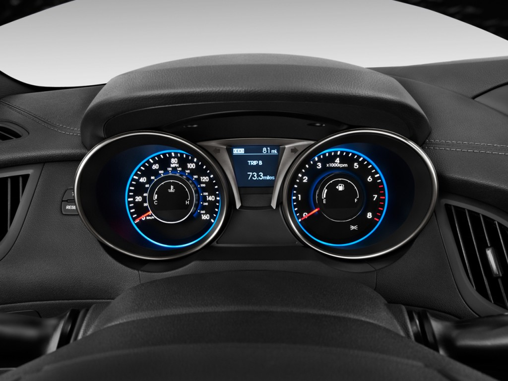 image 2013 hyundai genesis coupe 2 door i4 2 0t auto instrument cluster size 1024 x 768 type. Black Bedroom Furniture Sets. Home Design Ideas