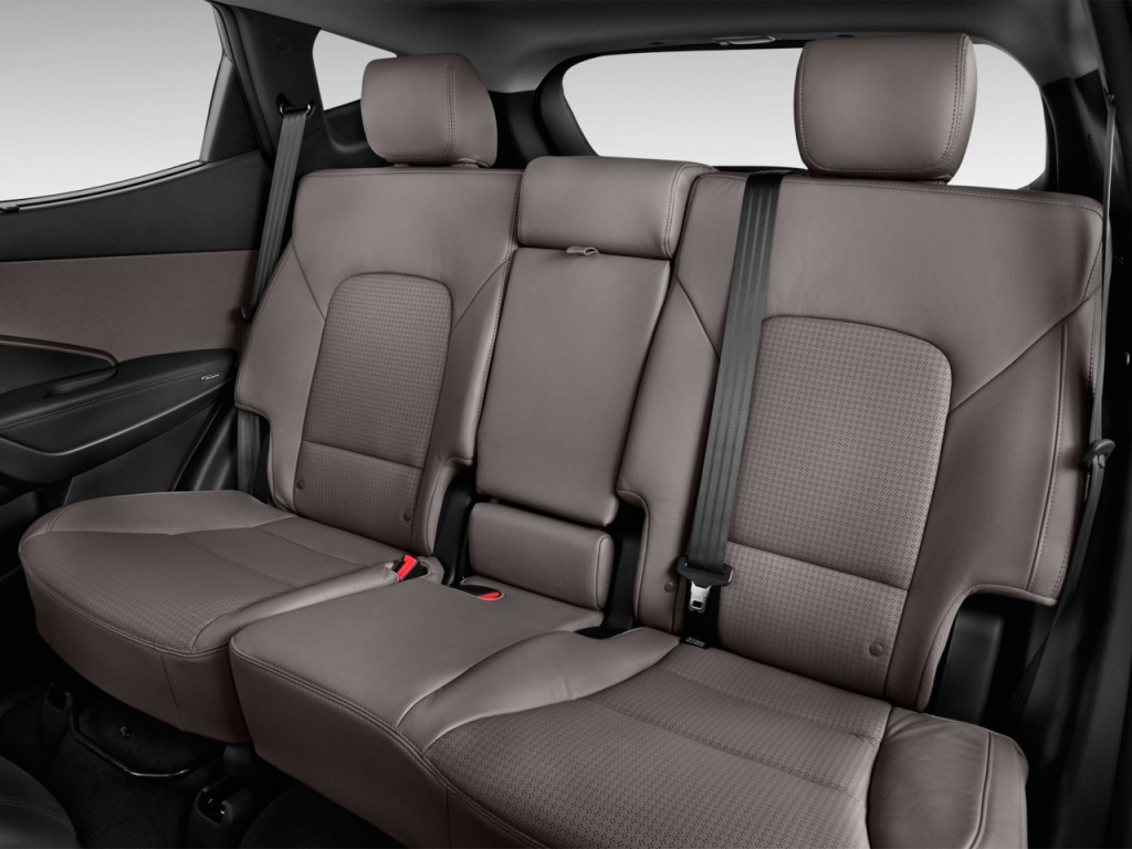 image 2013 hyundai santa fe fwd 4 door sport rear seats size 1024 x 768 type gif posted on. Black Bedroom Furniture Sets. Home Design Ideas