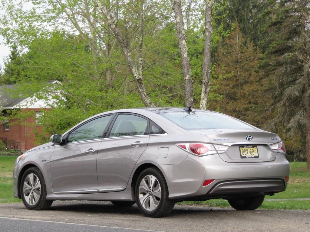 2013 Hyundai Sonata Hybrid, Catskill Mountains, April 2013