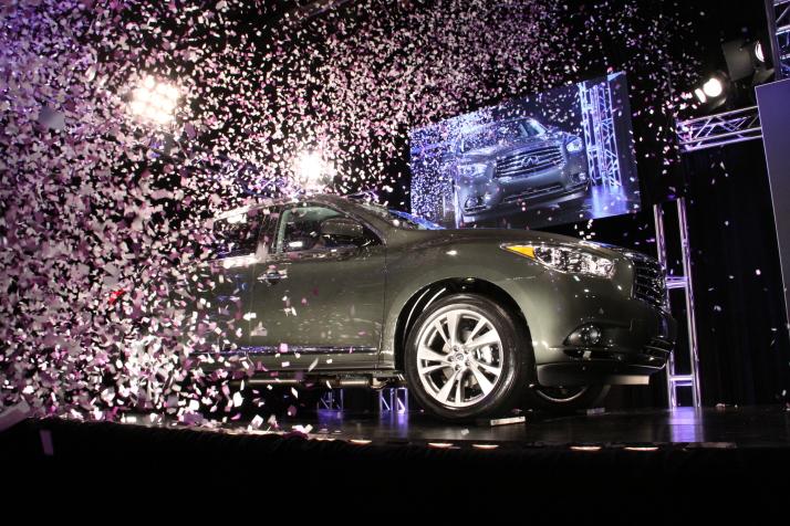 2013 Infiniti JX - job one at Nissan's Smyrna, TN vehicle assembly plant