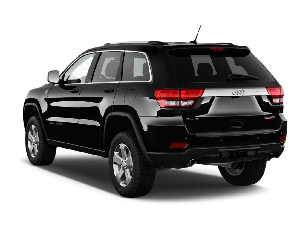 image 2013 jeep grand cherokee 4wd 4 door laredo trailhawk ltd avail angular rear exterior. Black Bedroom Furniture Sets. Home Design Ideas