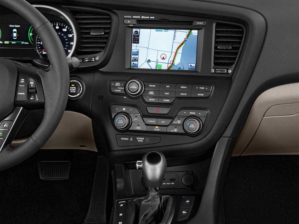 image 2013 kia optima hybrid 4 door sedan 2 4l auto lx instrument panel size 1024 x 768 type. Black Bedroom Furniture Sets. Home Design Ideas