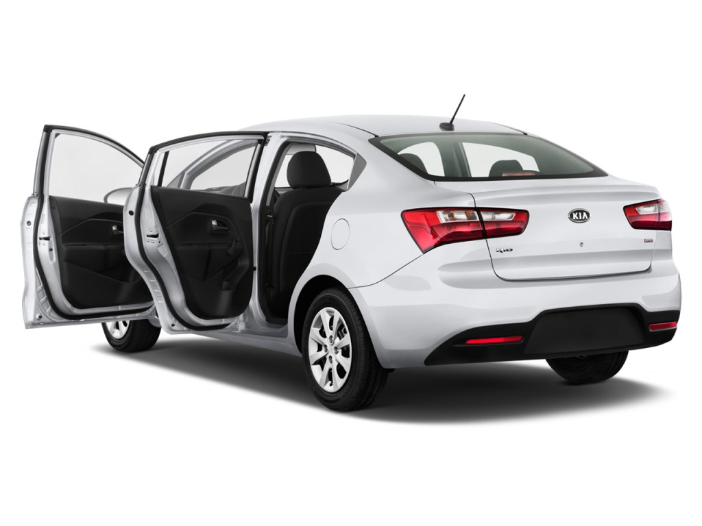 Image: 2013 Kia Rio 4-door Sedan Auto LX Open Doors, size ...