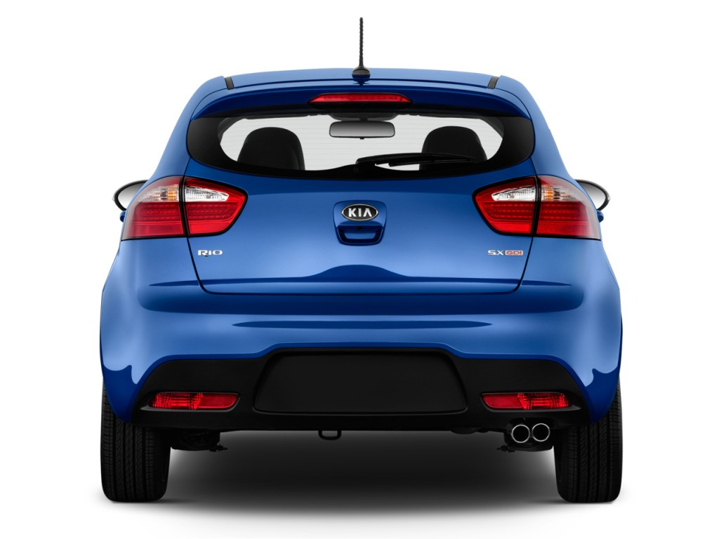 2013 Kia Soul Recalls >> Image: 2013 Kia Rio 5dr HB Auto SX Rear Exterior View, size: 1024 x 768, type: gif, posted on ...