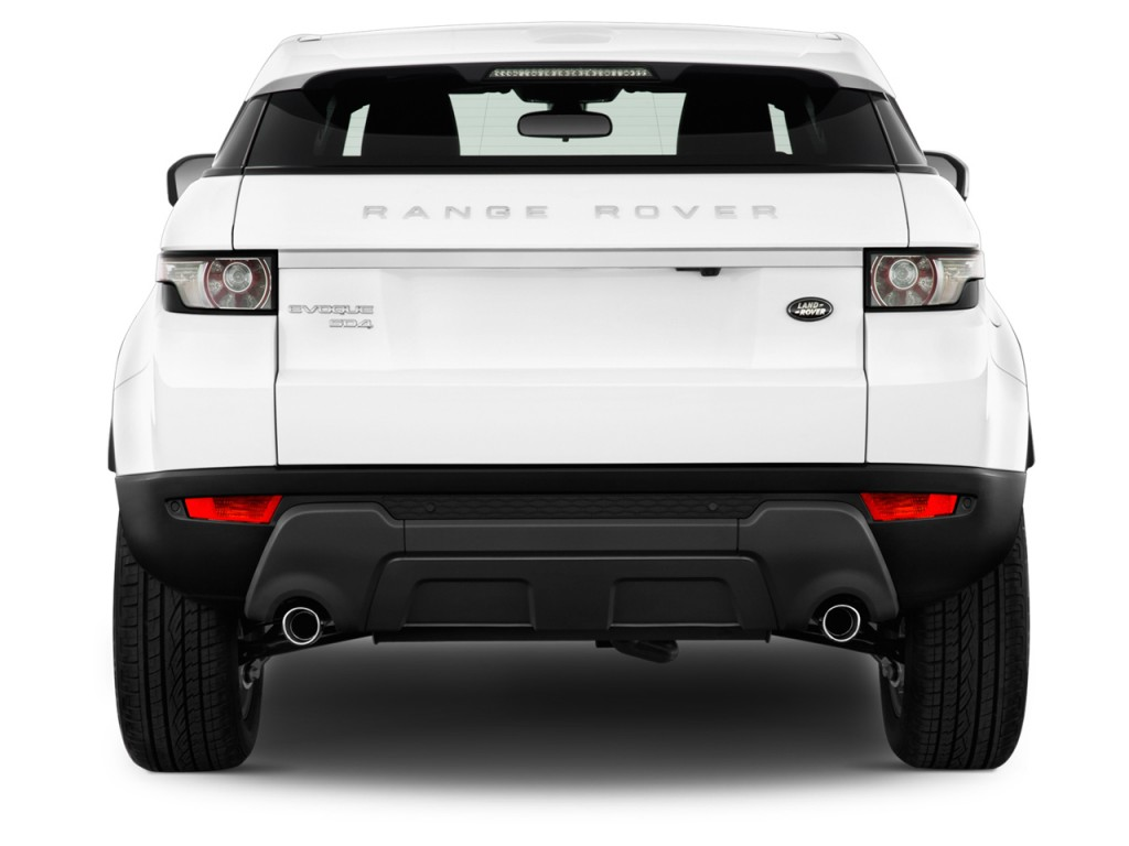 image 2013 land rover range rover evoque 2 door coupe pure plus rear exterior view size 1024. Black Bedroom Furniture Sets. Home Design Ideas