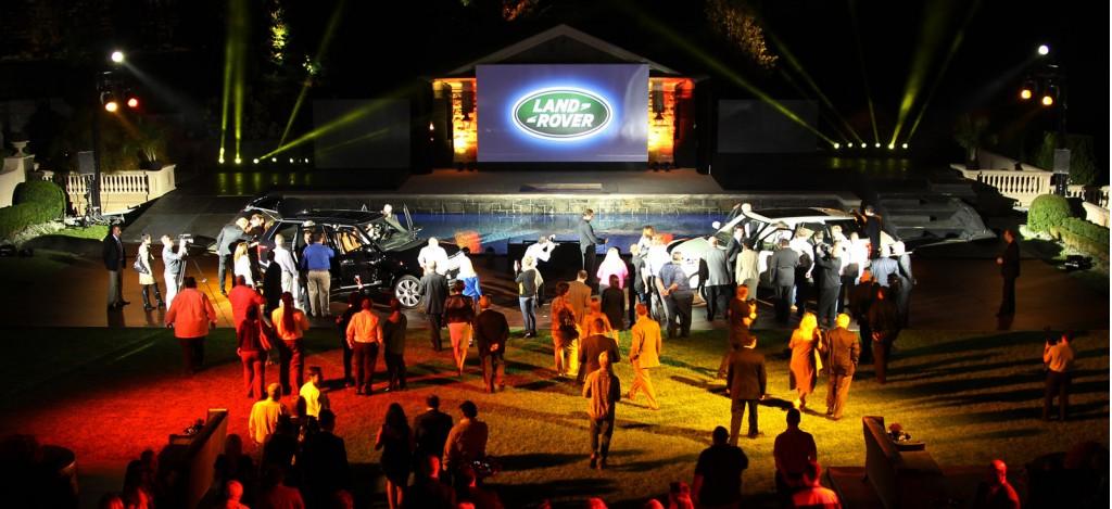 2013 Land Rover Range Rover U.S. launch in Alpine, New Jersey