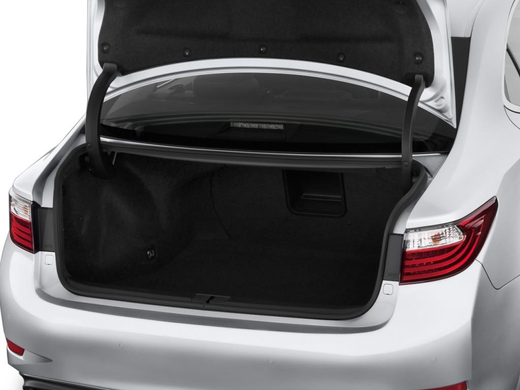 Toyota toyota camry trunk space : Image: 2013 Lexus ES 350 4-door Sedan Trunk, size: 1024 x 768 ...