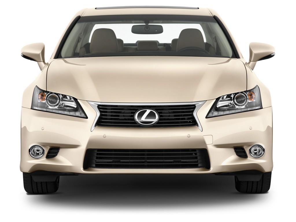 Image: 2013 Lexus GS 350 4-door Sedan RWD Front Exterior ...