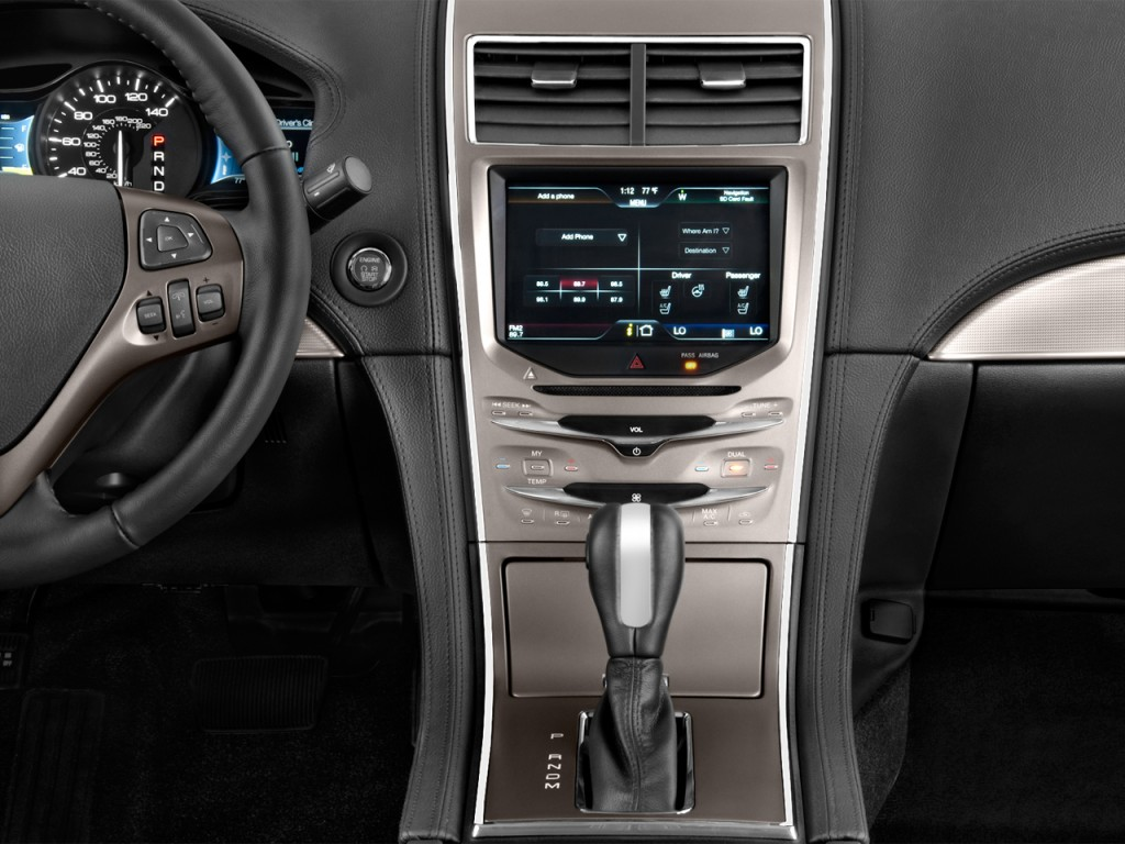 image 2013 lincoln mkx fwd 4 door instrument panel size. Black Bedroom Furniture Sets. Home Design Ideas