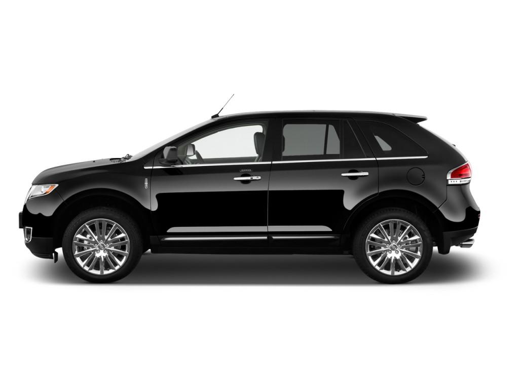 2013 Lincoln MKX FWD 4-door Side Exterior View