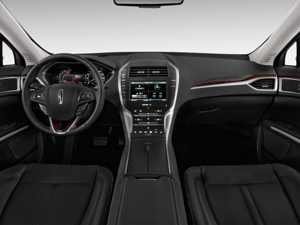 Image: 2013 Lincoln MKZ 4-door Sedan FWD Dashboard, size ...