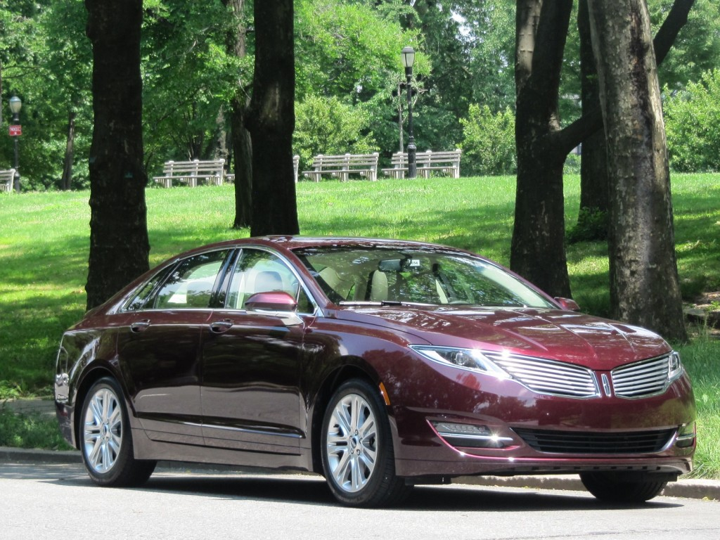 2013 Lincoln Mkz Hybrid Brief First Drive