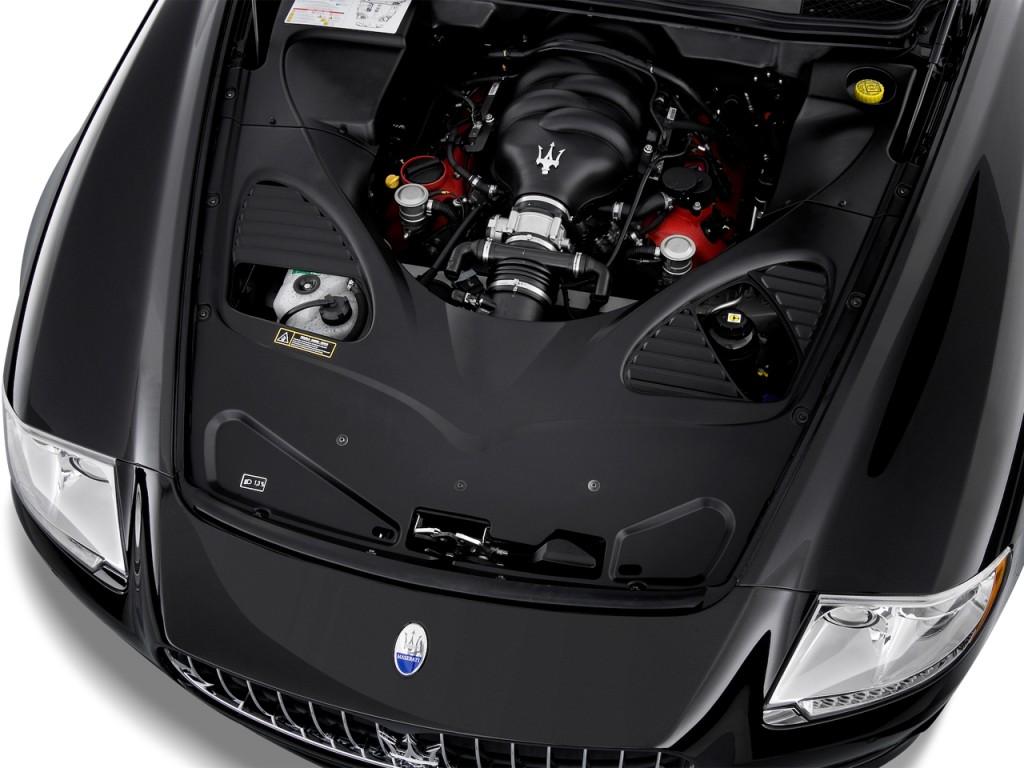 Image: 2013 Maserati Quattroporte 4-door Sedan ...