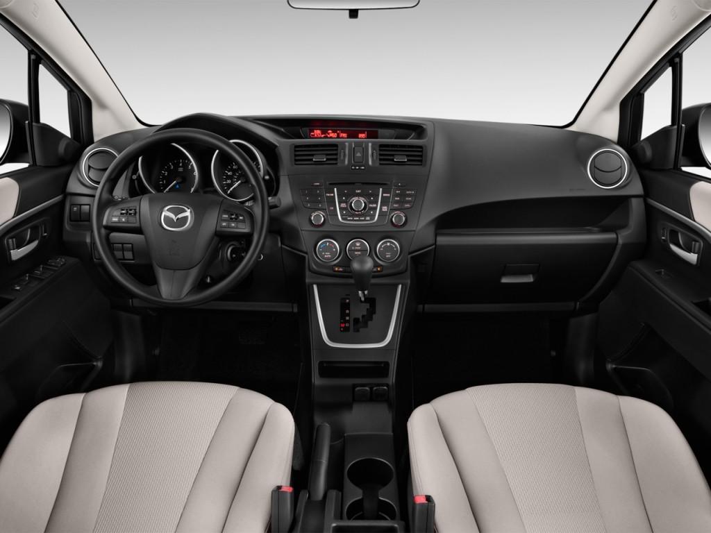 Image: 2013 Mazda MAZDA5 4-door Wagon Auto Sport Dashboard ...