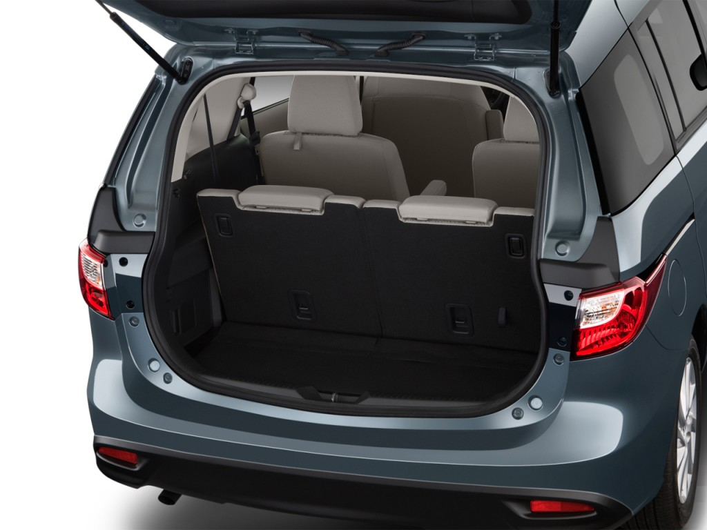 Image: 2013 Mazda MAZDA5 4-door Wagon Auto Sport Trunk ...