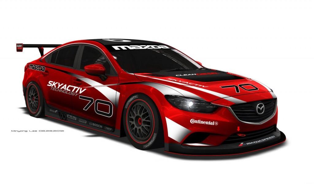 2013 Mazda Mazda6 SkyActiv-D Grand-Am GX race car