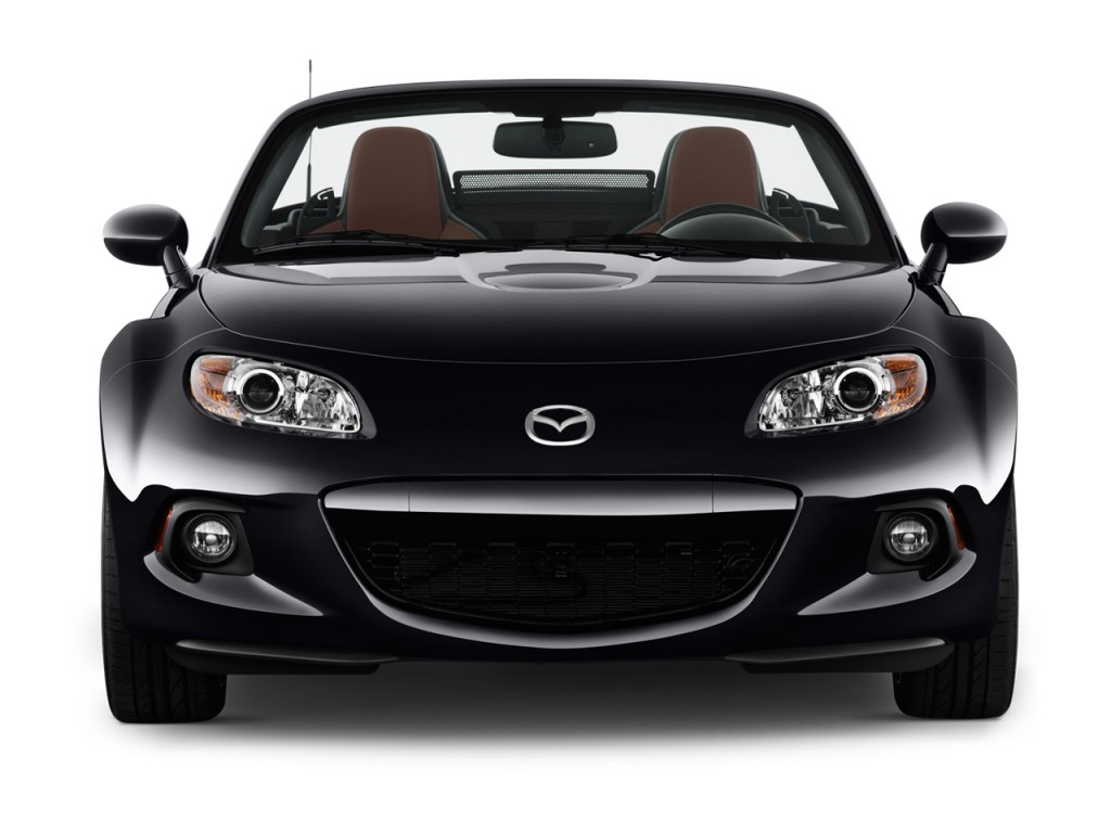 Image 2013 Mazda Mx 5 Miata 2 Door Convertible Hard Top Auto Grand Touring Front Exterior View