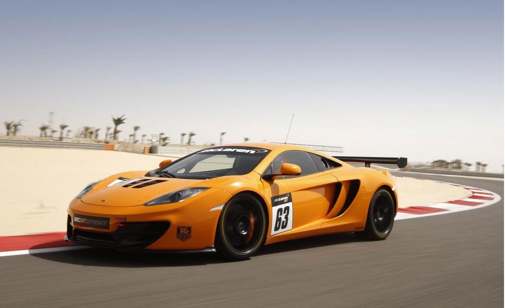 2013 McLaren 12C GT Sprint