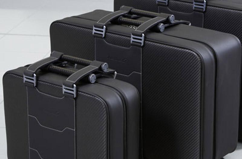 2013 McLaren MP4-12C Spider Neiman Marcus Edition custom luggage set