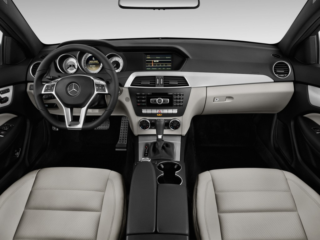 Image 2013 mercedes benz c class 2 door coupe c250 rwd for Mercedes benz dashboard