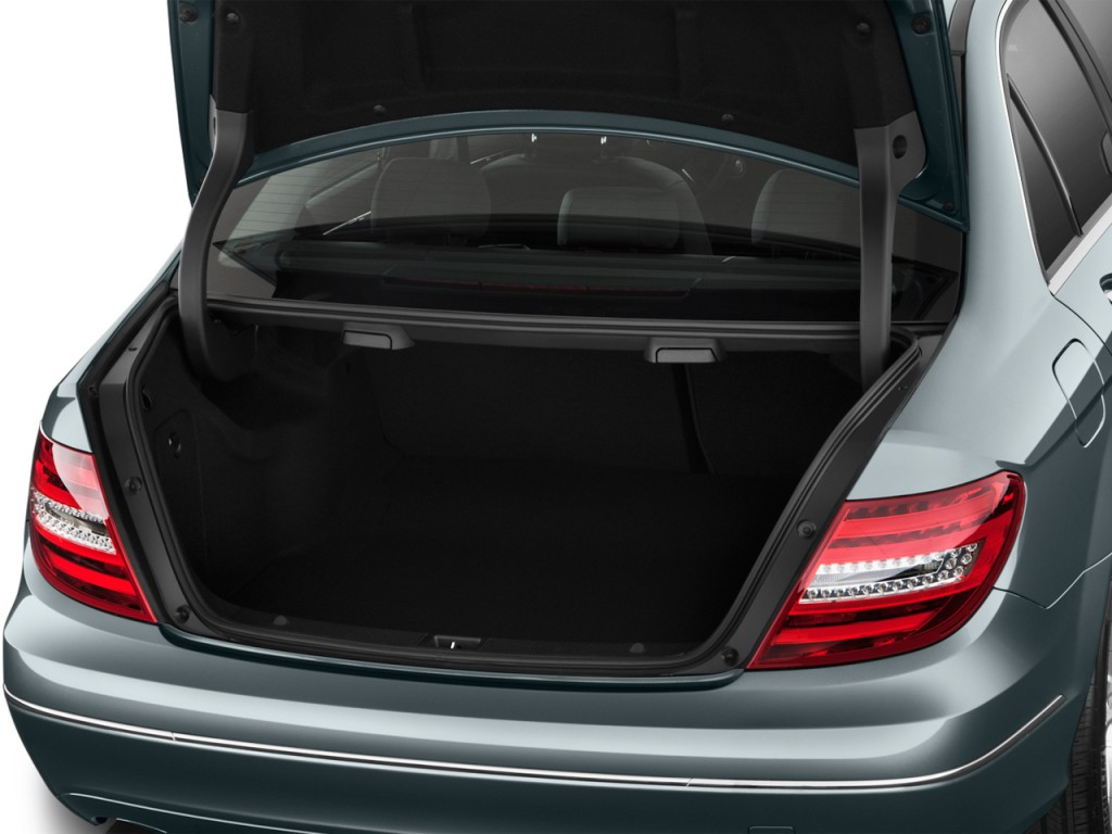 Image 2013 mercedes benz c class 4 door sedan c250 luxury for Mercedes benz car trunk organizer