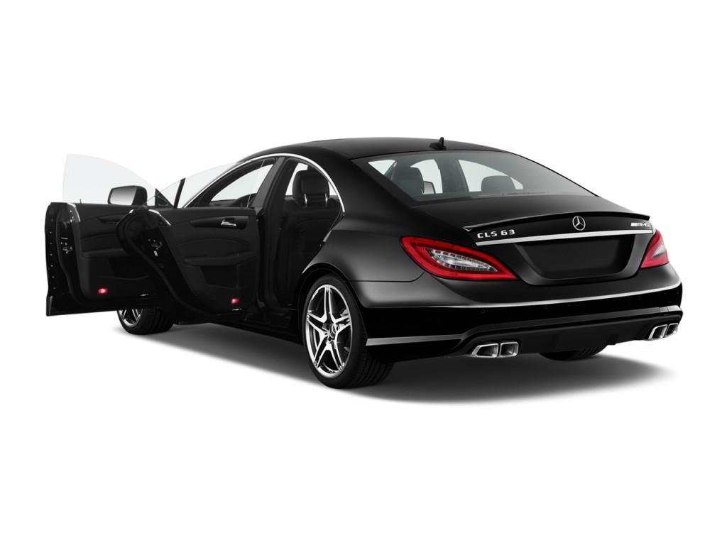Image 2013 mercedes benz cls class 4 door sedan cls63 amg for Mercedes benz cla 2 door