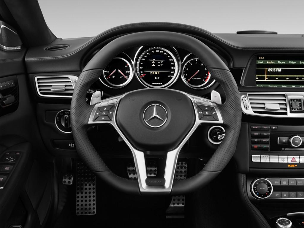 image 2013 mercedes benz cls class 4 door sedan cls63 amg rwd steering wheel size 1024 x 768. Black Bedroom Furniture Sets. Home Design Ideas