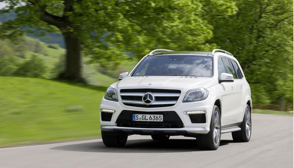 2013 Mercedes-Benz GL63 AMG Makes Debut