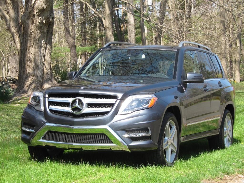 2013 Mercedes-Benz GLK 250 BlueTEC, upstate New York, April 2013