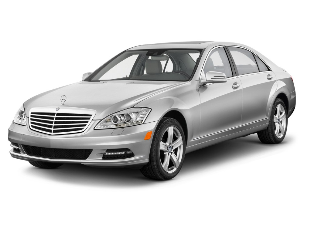 2013 Mercedes-Benz S Class 4-door Sedan S550 RWD Angular Front Exterior View
