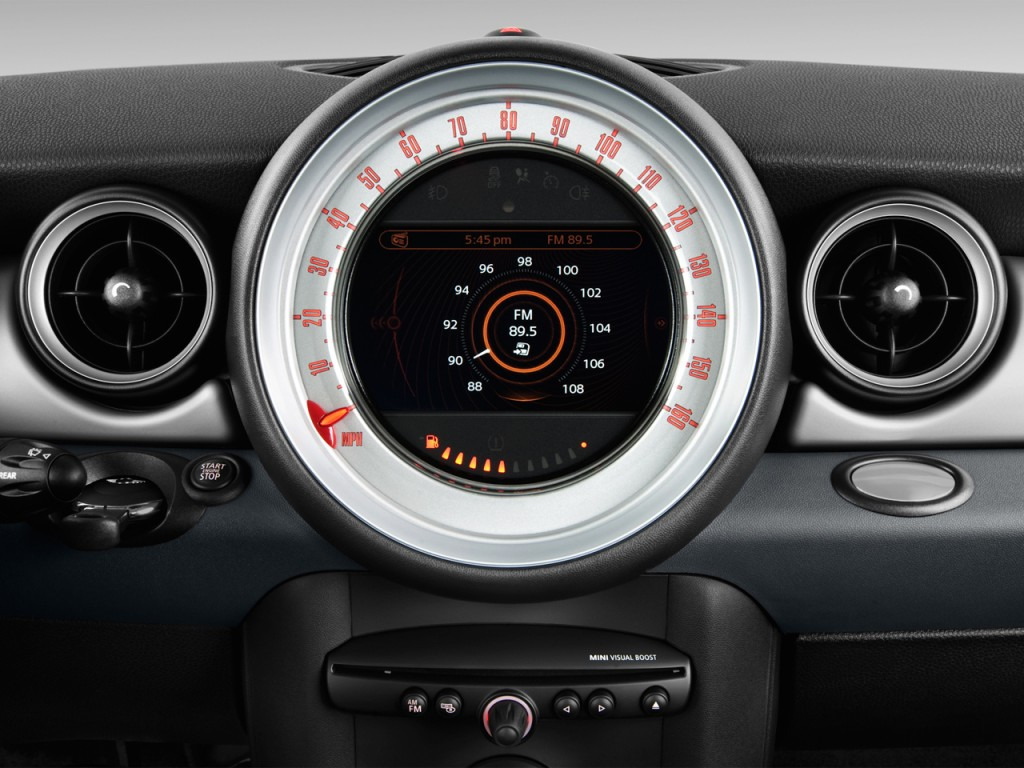 image 2013 mini cooper 2 door coupe audio system size. Black Bedroom Furniture Sets. Home Design Ideas