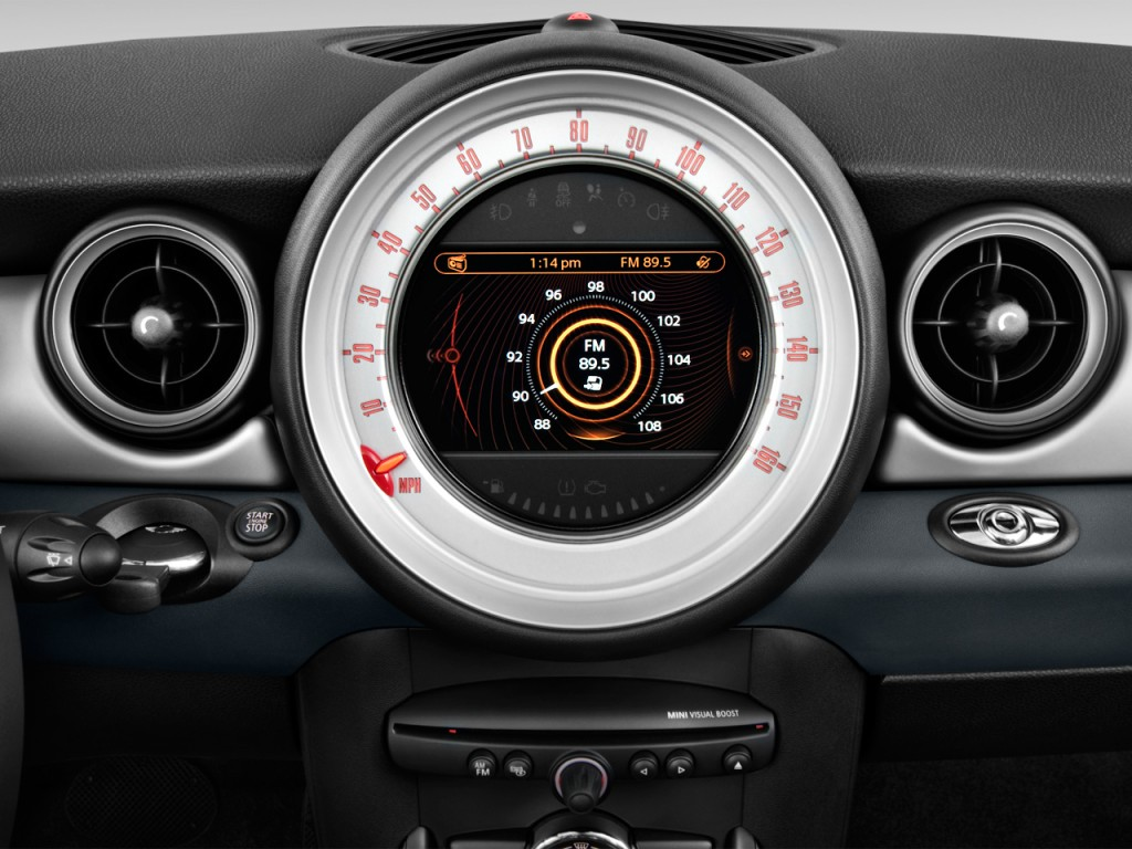 image 2013 mini cooper convertible 2 door audio system. Black Bedroom Furniture Sets. Home Design Ideas