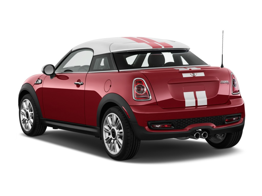 Image 2013 Mini Cooper Coupe 2 Door S Angular Rear