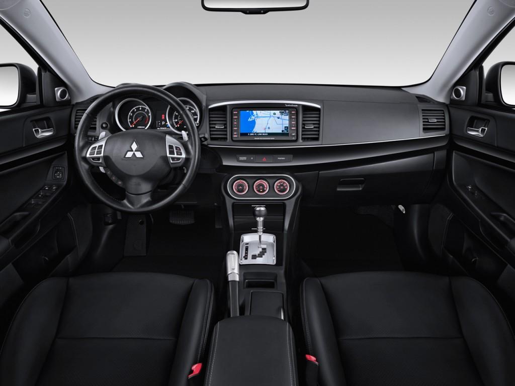 2013 Toyota Highlander For Sale >> Image: 2013 Mitsubishi Lancer 4-door Sedan CVT GT FWD Dashboard, size: 1024 x 768, type: gif ...