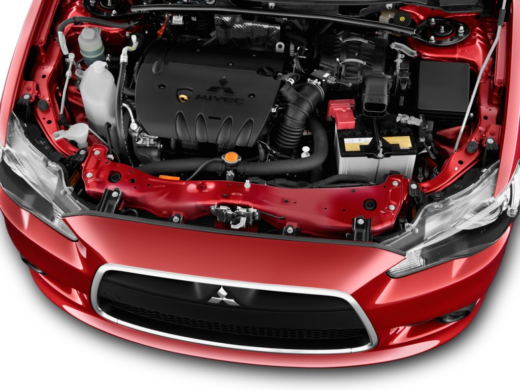 Image 2013 Mitsubishi Lancer 4 Door Sedan Cvt Gt Fwd