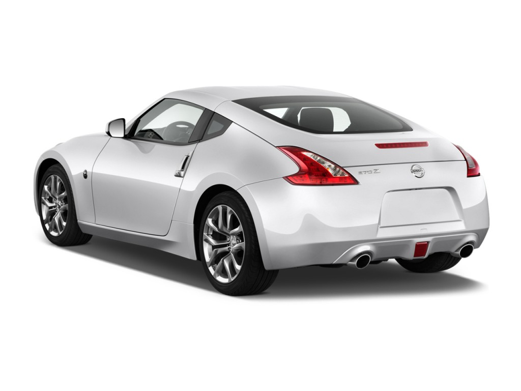 Charmant 2013 Nissan 370Z 2 Door Coupe Auto Angular Rear Exterior View