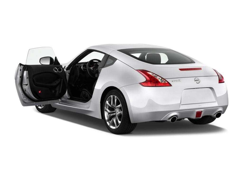Nissan 2 Door >> Image 2013 Nissan 370z 2 Door Coupe Auto Open Doors Size 1024 X